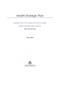 Strategic Plan for the Medium Term (2016 to 2020)
